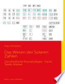 Das Wesen Der Solaren Zahlen book