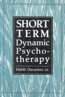 Short term Dynamic Psychotherapy