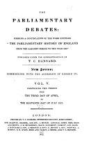 download ebook the parliamentary debates (authorized edition) pdf epub
