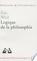 illustration Logique de la philosophie