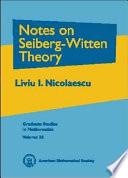 Notes on Seiberg Witten Theory