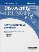 Discovering French Today   French 1 Bleu