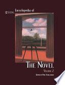 Encyclopedia of the Novel Taylor Francis An Informa Company
