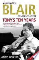 Tony s Ten Years