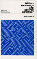 Military Technology and Defense Manpower