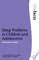 Sleep Problems In Children And Adolescents book