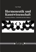 Hermeneutik und Kunstwissenschaft