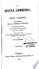 La divina commedia de Dante Alighieri