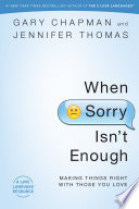 When Sorry Isn t Enough