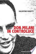 Don Milani in controluce