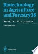 High Tech and Micropropagation II