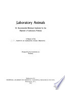 Recommended Minimum Standards For The Shipment Of Laboratory Primates book
