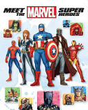Meet the Marvel Super Heroes   2nd Edition