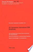 33e Symposium International FESF Strasbourg