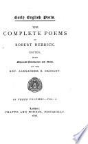 The Complete Poems of Robert Herrick