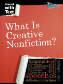 What Is Creative Nonfiction  book