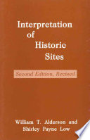 Interpretation of Historic Sites To Develop And Conduct Interpretive Programs For