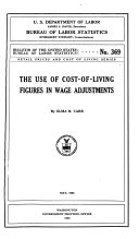 The Use of Cost of living Figures in Wage Adjustments