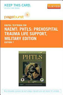 Phtls  Prehospital Trauma Life Support  Military Edition