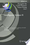 Intelligence Science Ii