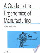A Guide to Human Factors and Ergonomics  Second Edition