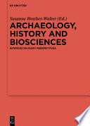 Archaeology History And Biosciences