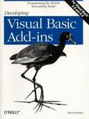 Developing Visual Basic Add ins