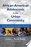African American Adolescents in the Urban Community