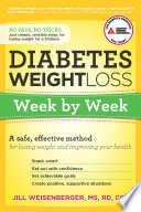 Diabetes Weight Loss  Week by Week