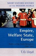 Empire, Welfare State, Europe
