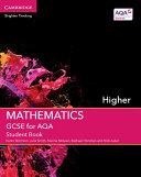 GCSE Mathematics for AQA Higher Student Book