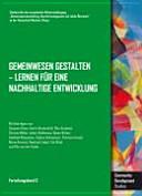 Gemeinwesen gestalten - Lernen für eine nachhaltige Entwicklung