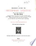 A Reader S Guide To Contemporary Literature book