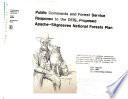 Apache-Sitgreaves National Forest (N.F.) Plan