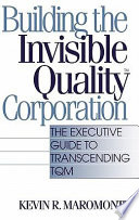 Building the Invisible Quality Corporation Pdf/ePub eBook
