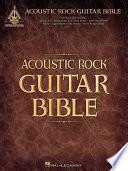 Acoustic Rock Guitar Bible  Songbook