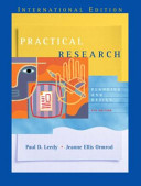 Valuepack:Research Methods for Business Students/Practical Research:Planning and Design