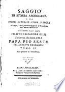 Saggio Di Storia Americana