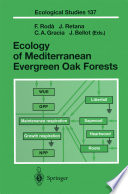 Ecology Of Mediterranean Evergreen Oak Forests : cover extensive mountain areas of the mediterranean...