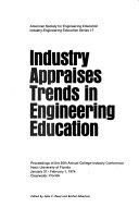 Industry appraises trends in engineering education