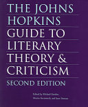 The Johns Hopkins guide to literary theory   criticism