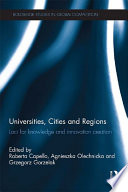 Universities  Cities and Regions