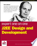 download ebook expert one-on-one j2ee design and development pdf epub