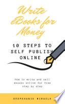 Write eBooks for Money