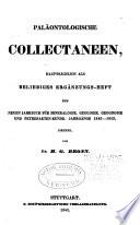 Paläontologische Collectaneen