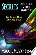 Secrets to Effective Author Marketing