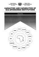 Capacities And Capabilities Of Eca Sponsored Institutions Without Special Title