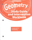 Geometry  Study Guide and Intervention Workbook