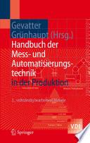 Handbuch der Mess  und Automatisierungstechnik in der Produktion