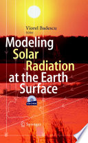 Modeling Solar Radiation at the Earth s Surface